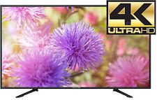 "49"" 4K Ultra HD TV LED Flat Screen Wall Mountable HDMI Monitor Remote MHL 50"