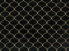 Saxon 343 Black 100% Polyester Fabric