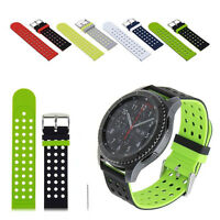 Silicone Bracelet Sport Strap Band 2 COLOR For Samsung Gear S3 Classic/Frontier