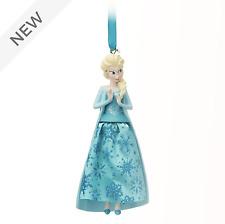 DISNEY Frozen Elsa Christmas Decoration Hanging Ornament 13.5cm **NEW**