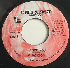 Vivian Jackson I Love you (Yabby You)  Reggae