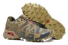 Men's Outdoor Salomon Speedcross 3 Gray camouflage Sports Run Hiking Shoes HOT
