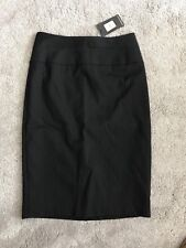 Oasis Pencil Office/work/Tailored Black Striped Skirt Size 6