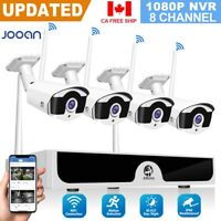 HD 1080P 8CH WiFi HDMI NVR Wireless IP Camera Home CCTV Security System Outdoor