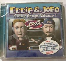 Eddie & Jobo B-96 SEALED CD Funny Songs Vol 1