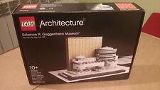 LEGO 21004 GUGGENHEIM MUSEUM-fuori produzione-sigillato-collezione-ARCHITECTURE