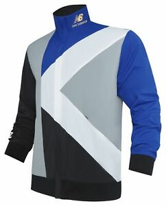 New Balance Men's KL2 Warmup Jacket Blue