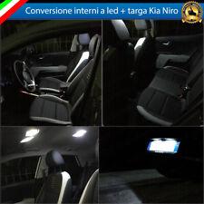 KIT FULL LED INTERNI KIA NIRO CONVERSIONE COMPLETA + LUCI TARGA 6000K CANBUS