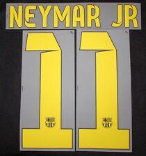Original 2014-2015 Barcelona FC Neymar JR Flock für NIKE Home Trikot NEU