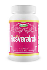 RESVERATROL Plus Resveratol Reservatrol Anti Aging Supplements Japanese Knotweed