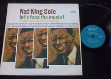 NAT KING COLE Let's Face The Music LP Early Flipback