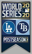 2020 WORLD SERIES PIN L.A. DODGERS TAMPA BAY RAYS AMERICAN NATIONAL LEAGUE CHAMP