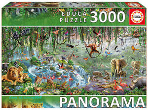 Educa Animal Collection Forest Kingdom 3000 Piece Adult Decompression Puzzle Toy