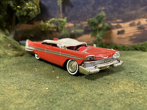1/43 Scale Diecast 1958 Plymouth Fury Crashed Custom Wrecked Smashed Christine