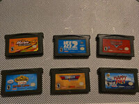 Nintendo GameBoy Advance Games Herbie,Suite Life,Top Gun, Happy Feet, Cars, IA2