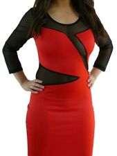 Sexy Dress RED Hot Little Number Great to Get You Noticed! 8 10 SEDUCE
