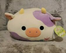"""Squishmallow Claire 12"""" Cow ( Brand New With Tags ) ~ Rare ~ Fast Shipping"""
