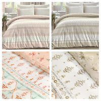 Dreams & Drapes Elodi Ditsy Floral Reversible Duvet Cover Bed Set OR Accessories