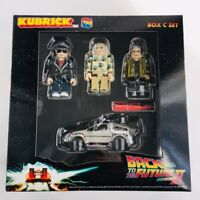 BACK TO THE FUTURE PART II KUBRICK DELOREAN & MARTY DOC GRIFF MEDICOM TOY JAPAN