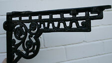 Metal Cast Wall / Shelf Bracket Victorian / Antique style Matt Finish