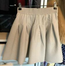 H&M Grained Pleather Skirt, Size 32