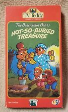 TV TEDDY Vhs Video Tape THE BERENSTAIN BEARS Not-So-Buried Treasure YES! 1993