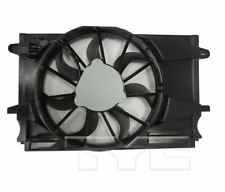 TYC 624140 Dual Rad&Cond Fan Assy for Chevrolet Cruze 1.4L SDN 2017-2019 Models