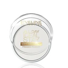 Eveline Matt Powder All Day Ideal Stay Face Pressed Powder Finish and Fix