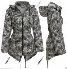 Checked Raincoats for Women