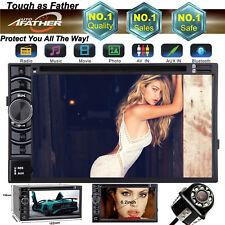 "For Dodge Ram 6.2"" 2 DIN Car Stereo DVD Player Radio Bluetooth w/ Backup Camera"