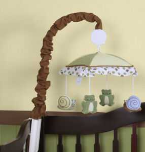Boutique New Froggy  Musical Mobile By GEENNY