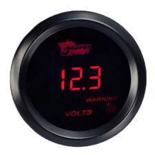 52mm Auto KFZ Digital LED Voltmeter Rot Anzeige Instrument Zusatz Instrumente