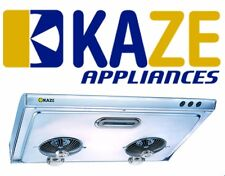 Kaze K202 30 Inch Stainless Steel Slim Under Cabinet Exhaust Kitchen Range Hood
