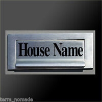 Post, Mail, Box House Name Sticker, Decal, Vinyl