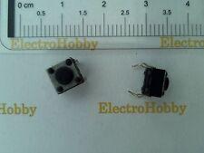 20x Pulsador 6x6x5 mm PCB, Switch, mini, Push touch, micro, 4 pin, arduino