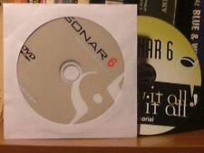Sonar 6 Producer Edition dvd & Tutorial