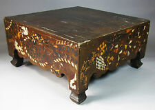 Very Rare Korean Mother of Pearl and Shell Inlaid GO Playing Board- 19th C.