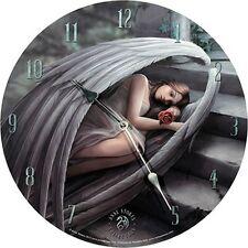 Sweet Sorrow Wanduhr 34 Cm Nemesis Now Fantasy Gothic Fairy Fee DEKO GMC 74189