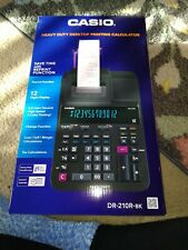 Casio Dr-210R Desktop Printing Calculator New