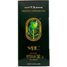 Percent Ashitaba Tea, 40 Tea Bags, 1.41 oz