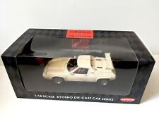 1:18 Kyosho Lotus Europa Special With Rear Wing White Gorgeous Collection NIB