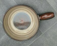 Vintage Landert 24, Floral Fondue Pot-Swiss Ceramic Stoneware-Great Condition