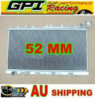 50mm alloy aluminum radiator Nissan PULSAR N14 GTIR N15