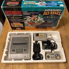 Super Mario Allstars + Mario World Super Nintendo (SNES) Boxed Console