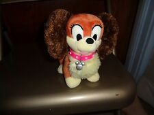 DISNEY STORE PLUSH MINNIE MOUSE PET FIFI FLAPPER PEKINESE DOG MOUSETON USA TOY