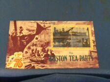Scott #1480 Thru 1483 8 Cent Plate Block Stamps Honoring The Boston Tea Party...