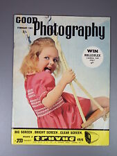 R&L Vintage Mag: Good Photography February 1961 Agfa Isoly Cameras/Orangutan