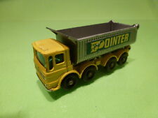 LESNEY  MATCHBOX NO= 51  8 WHEELS TIPPER  -  CAR  IN  GOOD CONDITION