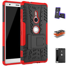 Shockproof Case Hard Protective Kickstand Slim Phone Cover For Sony Xperia XZ2