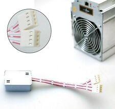 New 10pcs Fan Simulator for BITMAIN Antminer L3 D3 S7 S9 Z9 S17 T15 T9 V9 Miners